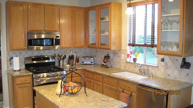 Kitchen Makeover: Cabinet Refacing, Kitchen Remodeling, Countertops